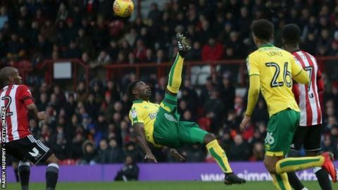 Alex Tettey has made 177 appearances for Norwich City since being signed by Chris Hughton from Rennes in 2012