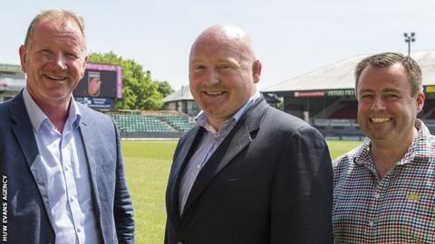 Stuart Davies, Bernard Jackman and Martyn Phillips