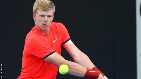 Kyle Edmund is a fitness worry for Australian Open