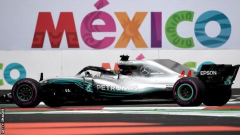Formula One extends Mexican Grand Prix through 2022