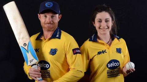 Bears captains Ian Bell and Marie Kelly