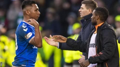 Alfredo Morelos: Scottish FA confirms Rangers striker booked for gesture
