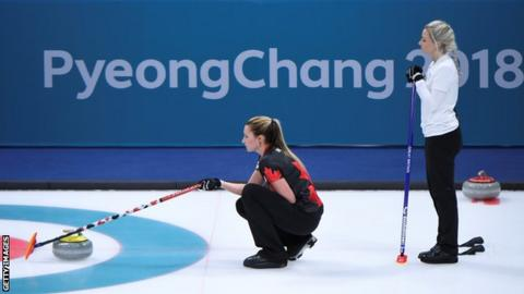 Curling - Five-star Schwarz sends Swiss into semis
