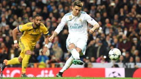 7e267a2d147 Real Madrid 1-3 Juventus (agg: 4-3) - BBC Sport