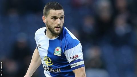 Craig Conway in action for Blackburn