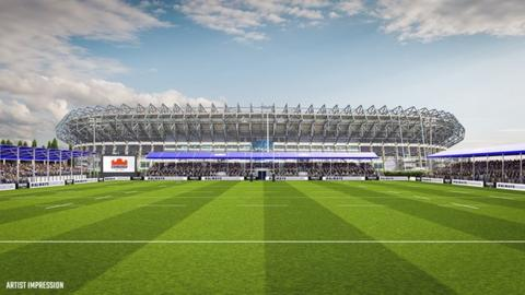 Edinburgh Rugby: Permission granted for new stadium next to Murrayfield