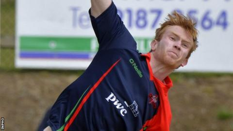 Shane Getkate took three wickets for Northern Knights
