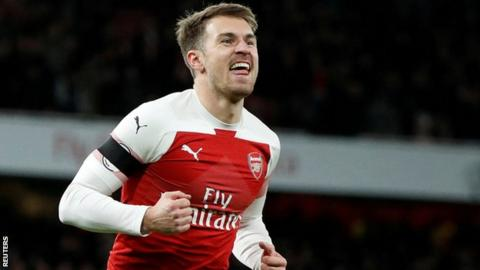Arsenal midfielder Aaron Ramsey will join Juventus next season