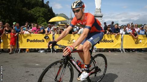 Slovenian cyclist Kristijan Koren