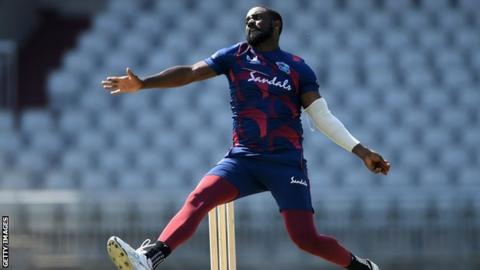 Raymon Reifer takes 5 wickets from 11 balls in West Indies warm-up