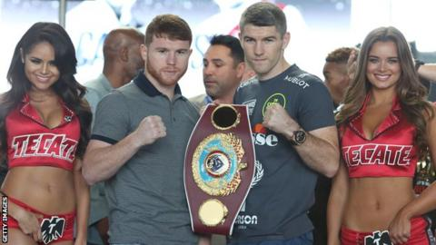 Liam Smith, Saul Alvarez