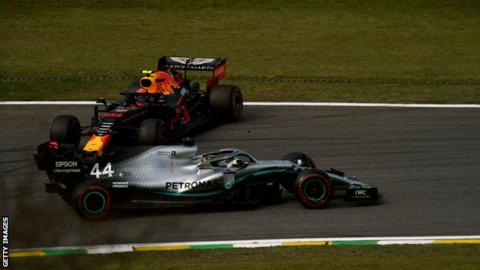 Abu Dhabi Grand Prix: Mercedes aim to learn from mistakes in Brazil