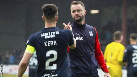 McPake made Kerr his captain for the final day of last season