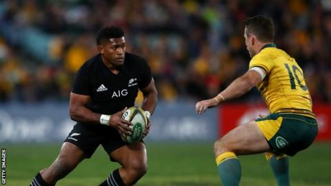 Waisake Naholo to ditch New Zealand rugby