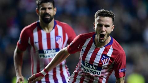 Atletico Madrid's Saul