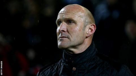 Former Chester manager Steve Burr