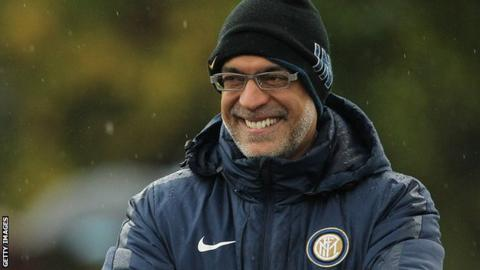 Michael Bolingbroke during his time as chief executive of Inter Milan