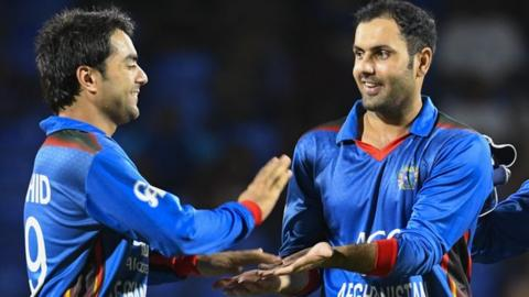 Rashid Khan and Mohammed Nabi