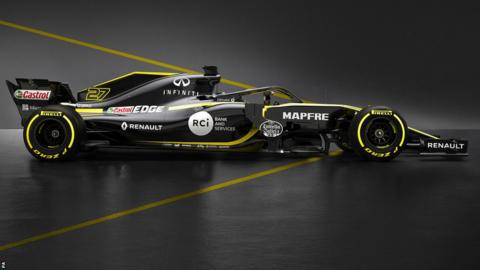 Renault launch the RS18