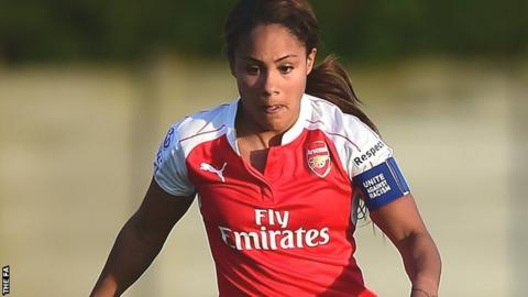 Arsenal defender Alex Scott has won 127 senior international caps for  England efeefd13ee