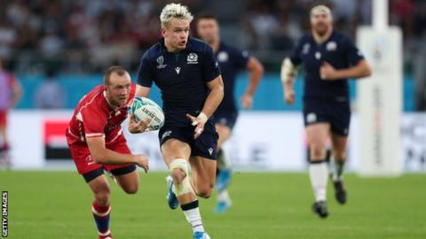 Darcy Graham, who has five tries in 10 games for Scotland, could miss their first few Six Nations matches