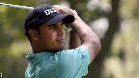 Shubhankar Sharma upstages big names to take lead in WGC-Mexico Championship
