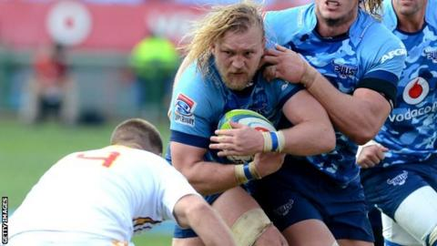 Dewald Potgieter won two consecutive South African Super Rugby titles with the Bulls in 2009 and 2010