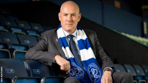 Mark Warburton following his appointment as QPR manager