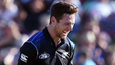 New Zealand international fast bowler Matt Henry