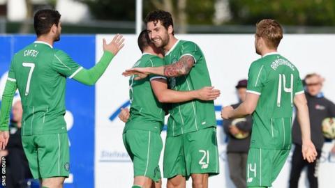 Celtic were 4-1 winners in Iceland