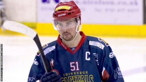 Edinburgh Capitals coach Mike D'Orazio saw two more players leave his side this week