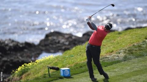 Ted Potter Jr. holds off Dustin Johnson to claim Pebble Beach win