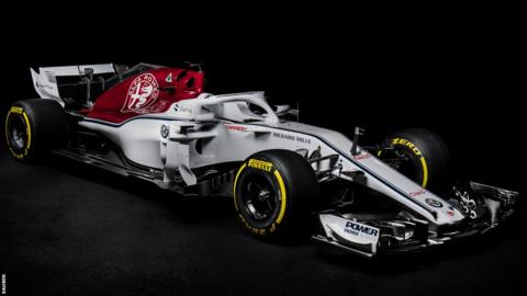 Sauber launched their new C37 car