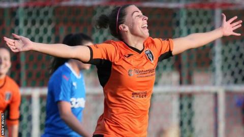 Glasgow City's Nicola Docherty