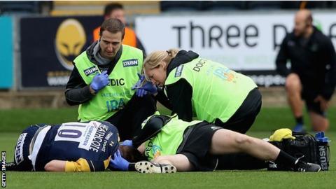 Tom Heathcote injury