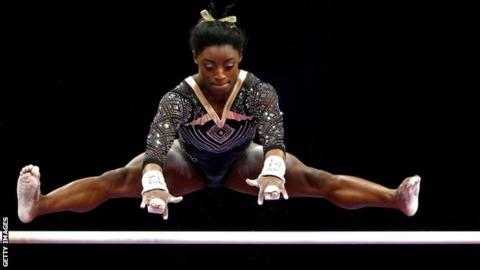 Simone Biles of the USA