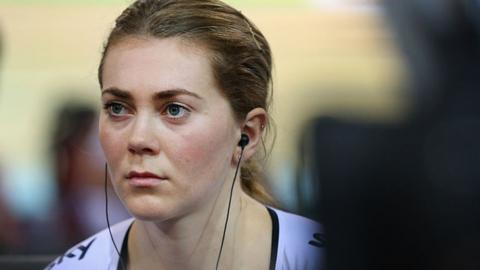 Jess Varnish during her British Cycling days