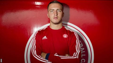 Hamilton Accies goalkeeper Ryan Fulton