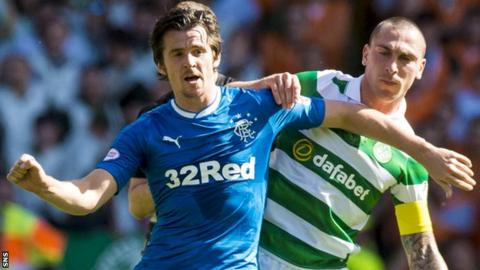 Joey Barton and Scott Brown
