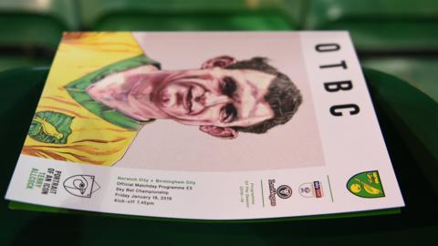 Norwich programme cover