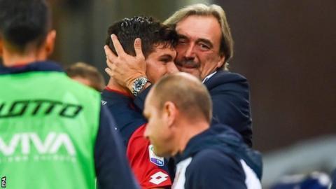 Pietro and Marco Pellegri