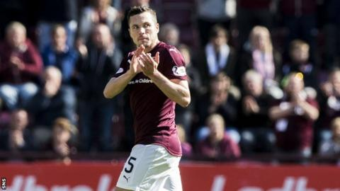 Hearts' Don Cowie