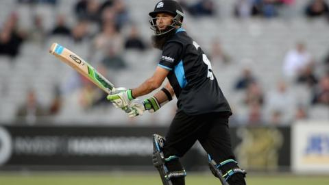 Moeen Ali has hit 238 runs in five T20 innings for Worcestershire this season