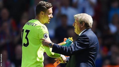 Wayne Hennessey edged ahead as Palace's first-choice goalkeeper under boss Roy Hodgson last season