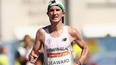 Commonwealth Games marathon runner Callum Hawkins leaves hospital
