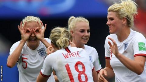 England women at the World Cup