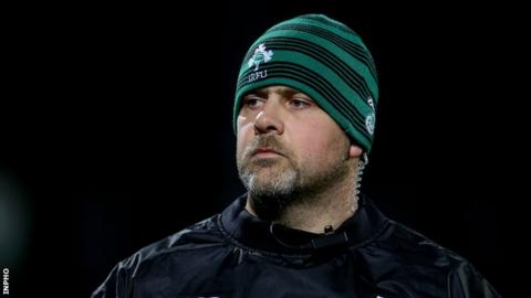 McFarland has previous experience as a head coach of the Emerging Ireland side
