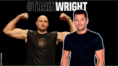 Tyson Fury, Mark Wright