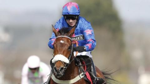 Paddy Brennan on Cue Card