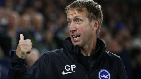 Graham Potter took over from Chris Hughton in May